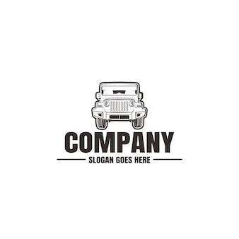Шаблон логотипа автомобиля