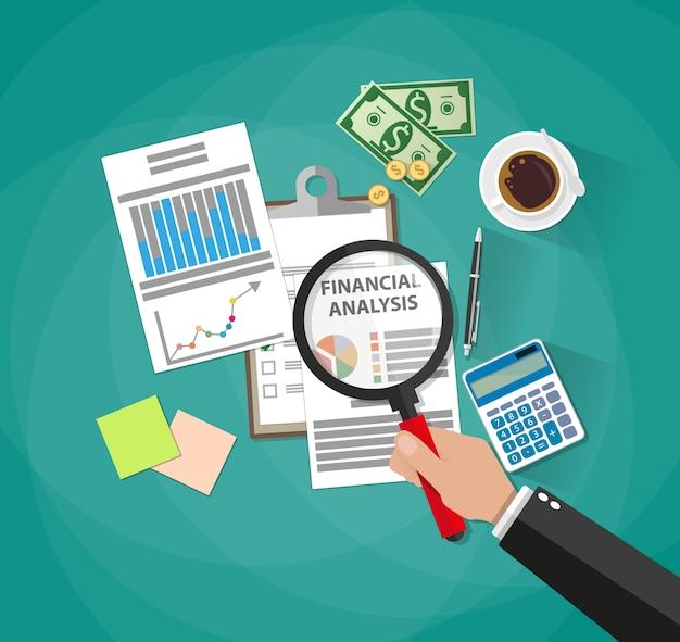 ビジネス分析と計画、財務報告