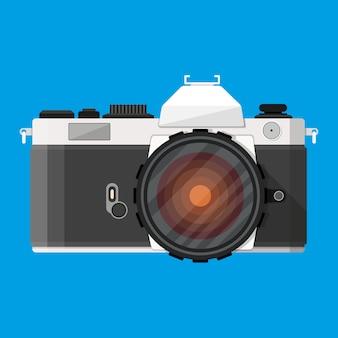 レトロな写真カメラ