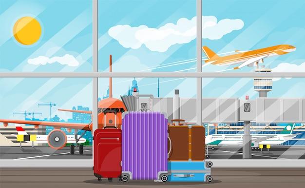 国際空港のコンセプト。