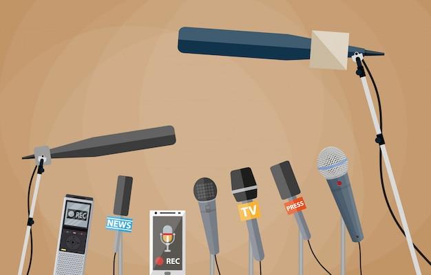 Журналистика, репортаж в прямом эфире, горячие новости