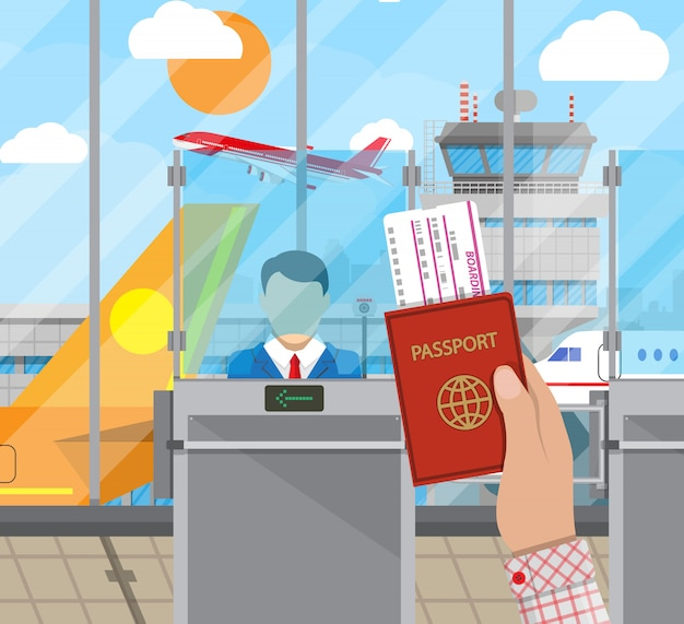 Концепция пограничного контроля, сотрудник иммиграционной службы