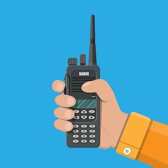 Современное портативное радиоустройство