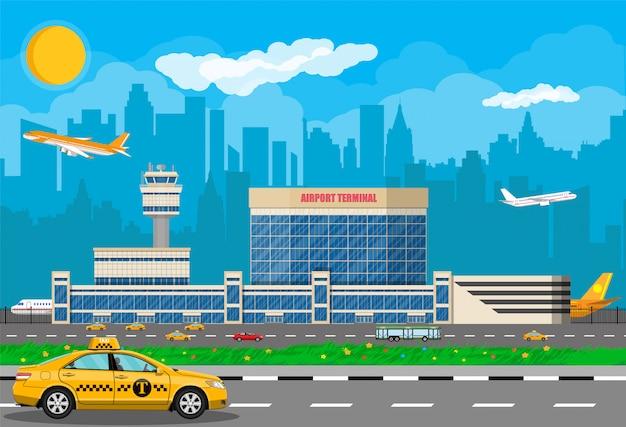 Концепция международного аэропорта.