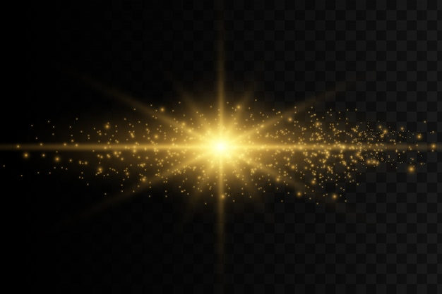 抽象的なスタイリッシュな光の効果
