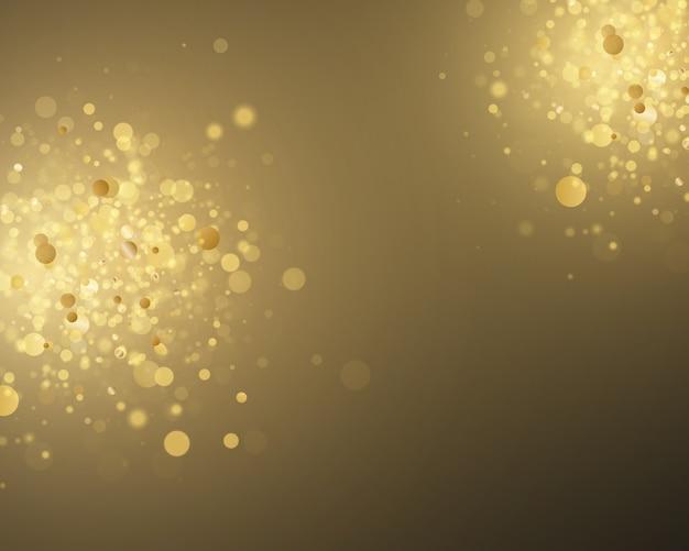 クリスマス抽象的なスタイリッシュな光の効果
