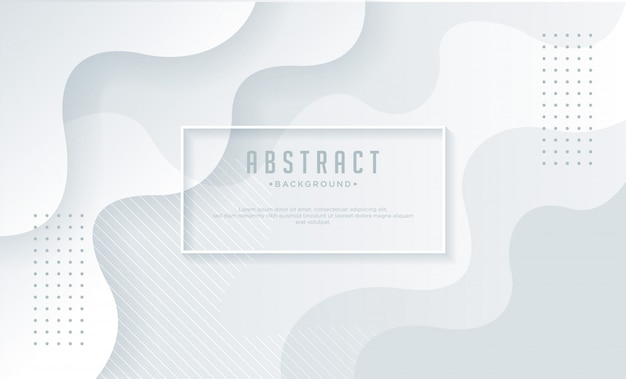 Белый абстрактный фон в стиле бумаги.