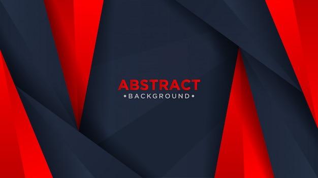 暗いと赤のモダンな抽象的な背景。