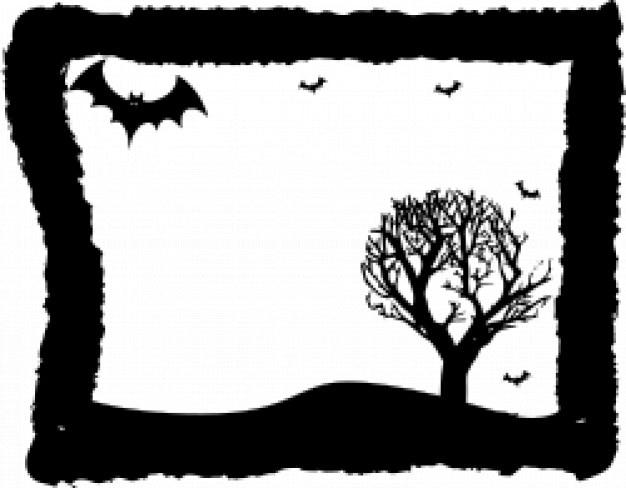 Хэллоуин кадр