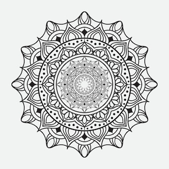 Роскошный дизайн мандалы