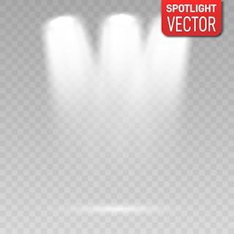 Подсветка прожекторов иллюстрации