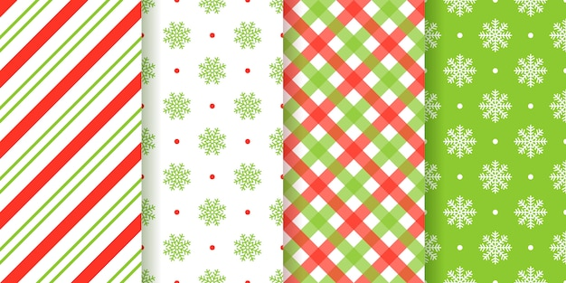 クリスマスのシームレスパターン