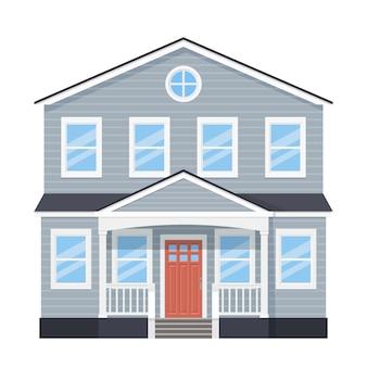 家の正面、家の正面、建物の外観