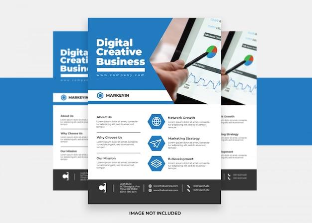 Вектор презентация бизнес дизайн красочный современный креативный корпоративный флаер