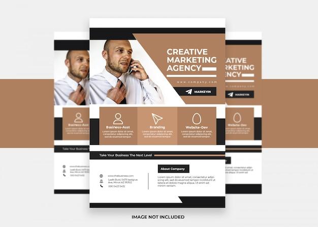 Векторная презентация красочный современный креативный дизайн бизнес корпоративный флаер