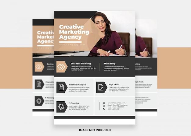 Вектор презентация бизнес современный креативный дизайн красочный корпоративный флаер