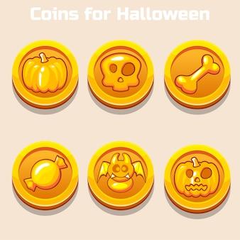ハロウィーンの金貨