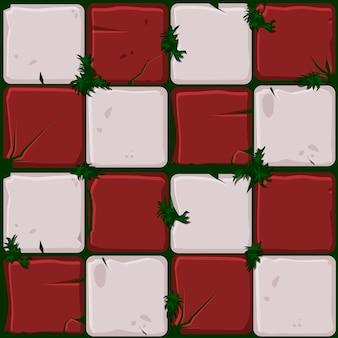 Текстура красных каменных плиток
