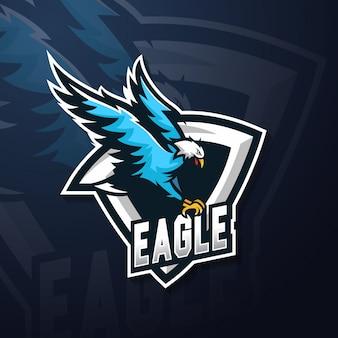 Талисман с логотипом орла киберспорта