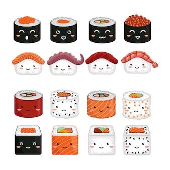かわいいキャラクター寿司