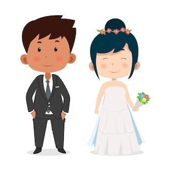 Симпатичные детские персонажи на свадьбу