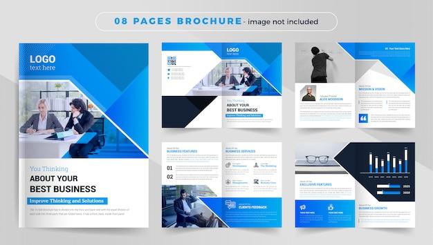 Шаблон брошюры профиля компании