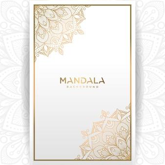 白地にゴールドのビンテージグリーティングカード