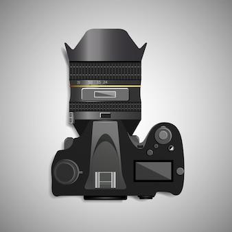 Профессиональная камера вид сверху