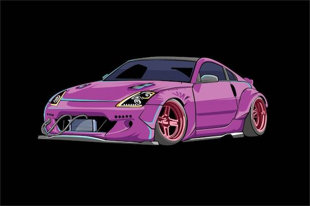 Автомобильная иллюстрация