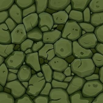緑の石のシームレスな背景