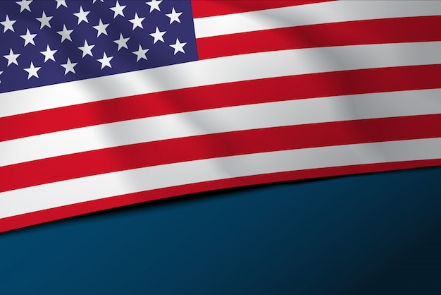 米国旗旗バナー