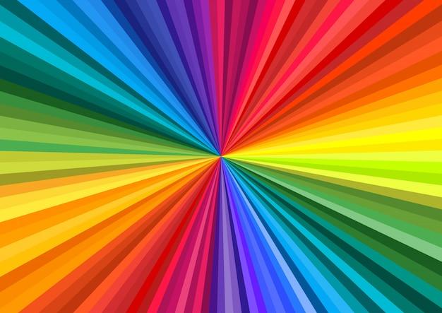 Абстрактный вихрь радуги