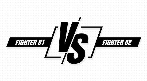 対立の戦いの競争。