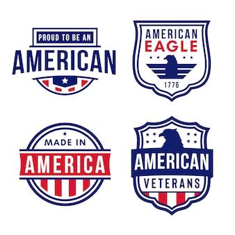 アメリカ軍バッジロゴ