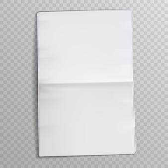 Чистый лист бумаги. таблоидный газетный журнал. сми газеты открывают страницы.