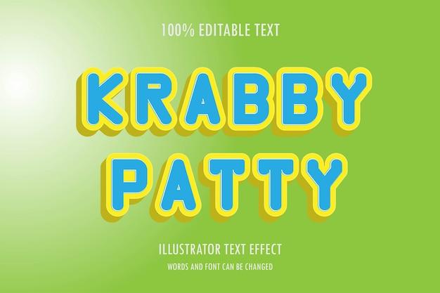 Редактируемый текстовый эффект, легко редактируемый шрифт, стиль и эффект
