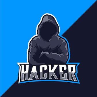 Хакер логотип киберспорт