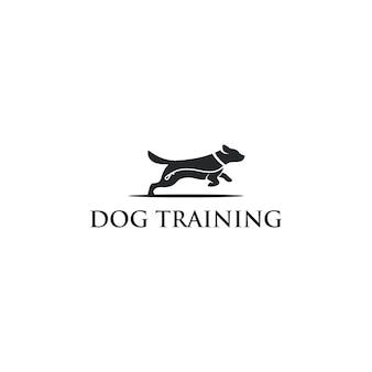 Логотип дрессировки собак
