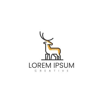 鹿のロゴデザインのインスピレーション