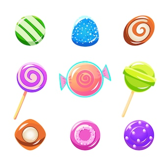 Набор разных конфет