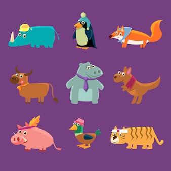 愛らしい動物コレクション