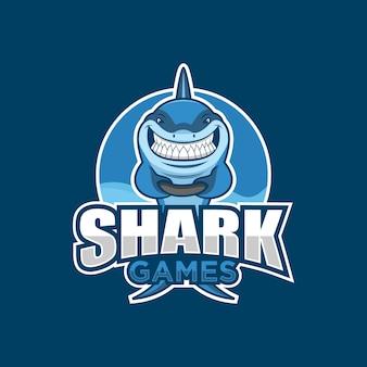 サメゲームイラスト