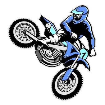Мотокросс прыжки