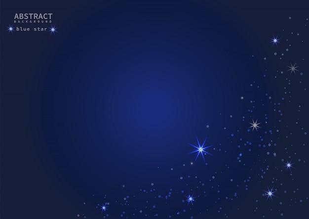 Голубая звезда фон. премиум