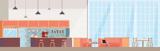 Интерьер современной кофейни