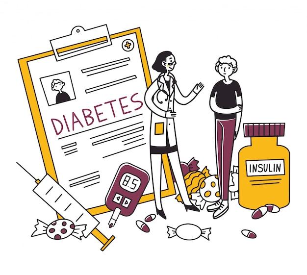 Диагностика больных сахарным диабетом