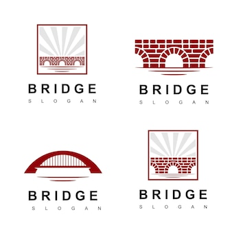 Логотип кирпичный мост