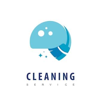 清掃サービスのロゴ