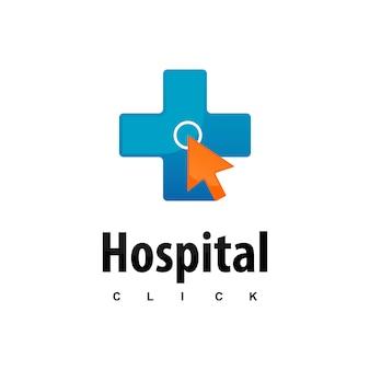 病院のロゴをクリック