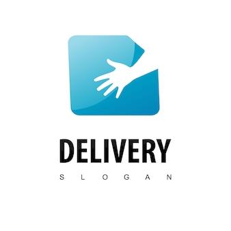 Доставка логотип дизайн вдохновение